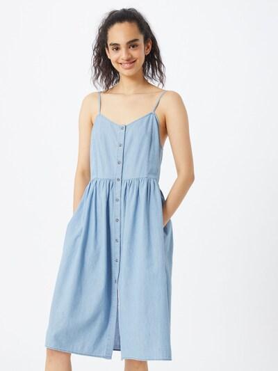 Tommy Jeans Kleid 'Chambray'' in hellblau, Modelansicht