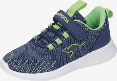 KangaROOS Sneaker Low in blau / grün, Produktansicht