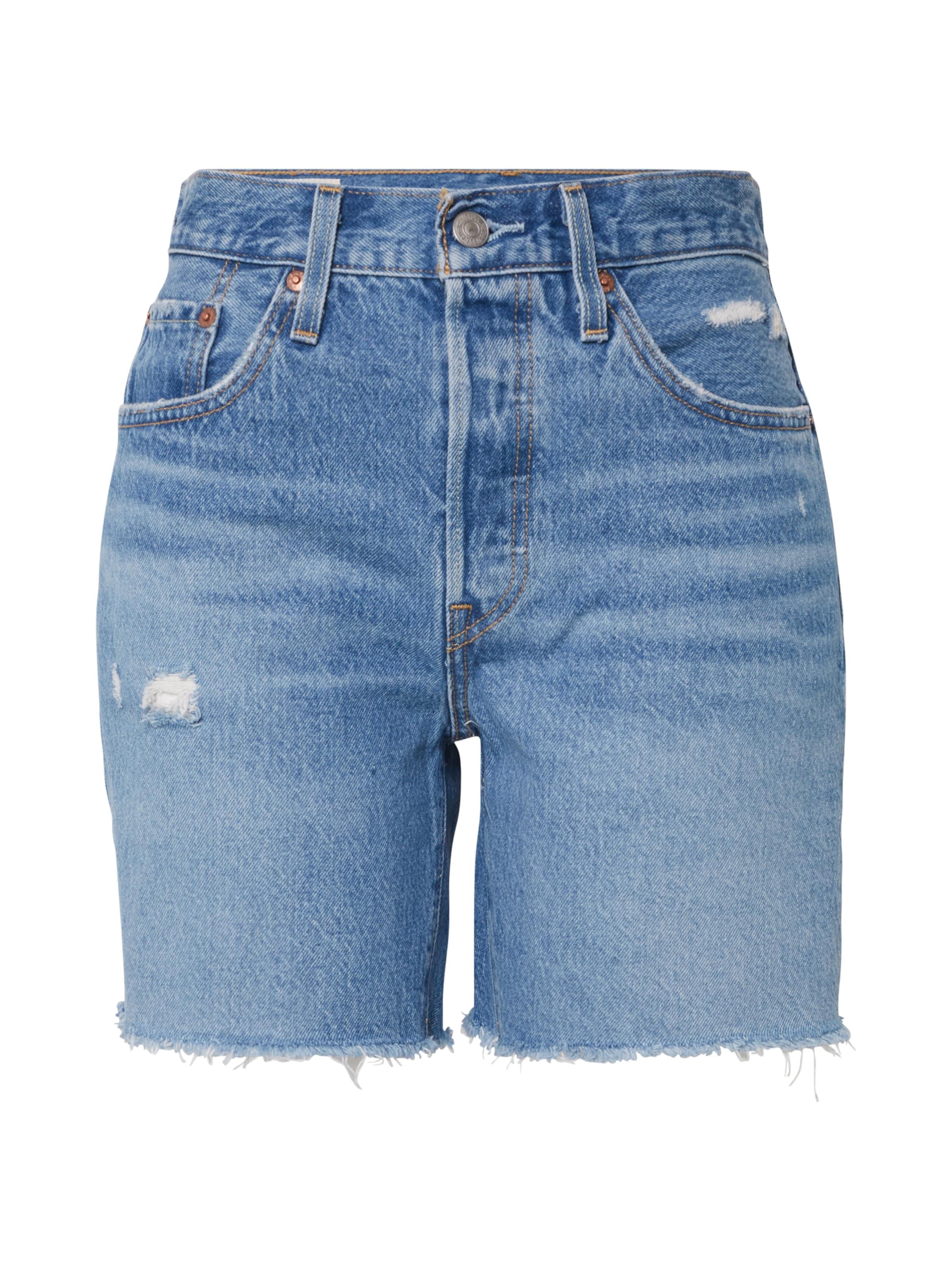 LEVI'S Jeans i blå denim