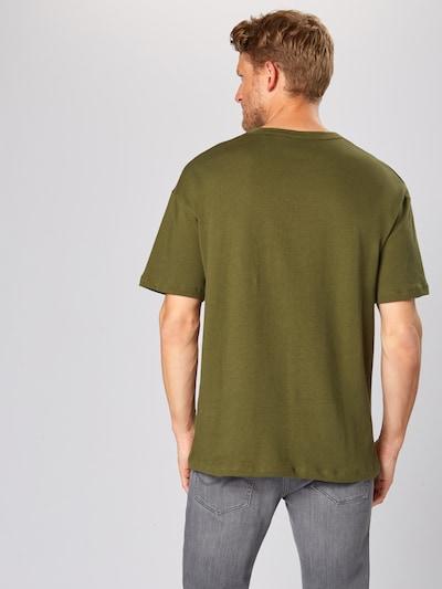 JACK & JONES Shirt 'LUCAS' in de kleur Donkergroen: Achteraanzicht