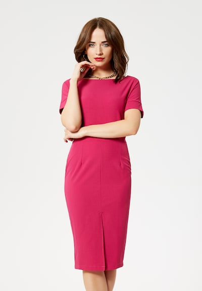 faina Kleid in pink, Modelansicht