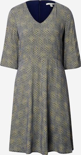 ESPRIT Kleid in navy / gelb, Produktansicht