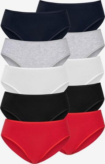 GO IN Slip in blau / grau / rot / weiß, Produktansicht