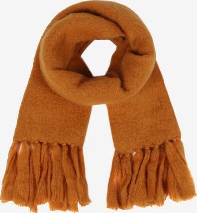 Zwillingsherz Sjaal in de kleur Oker, Productweergave