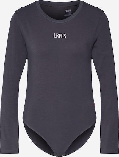 LEVI'S Majica 'GRAPHIC LS BODYSUIT' | antracit barva, Prikaz izdelka