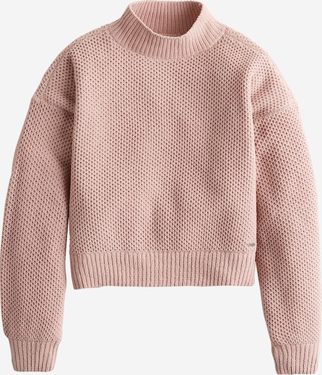 HOLLISTER Pullover 'XM19-MATTE CHENILLE HNYCMB MOCK 5CC' in pink, Produktansicht