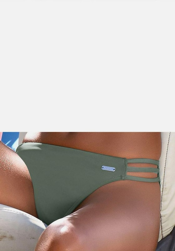 BENCH Bikini-Hose 'Perfect' in oliv, Modelansicht