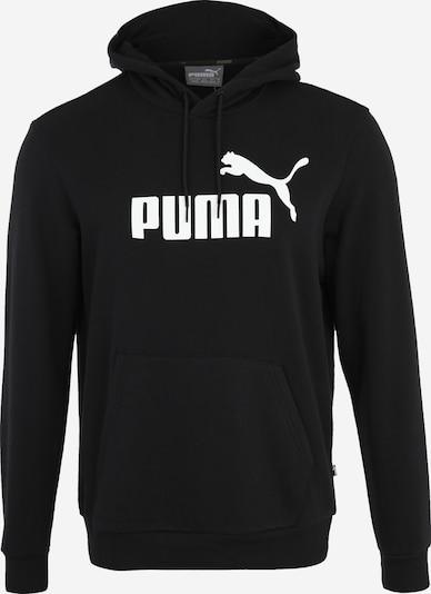 PUMA Športna majica 'Essential' | črna / bela barva, Prikaz izdelka
