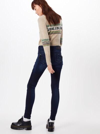 G-Star RAW Jeans 'Midge Cody Mid Skinny Wmn NEW' in de kleur Blauw: Achteraanzicht