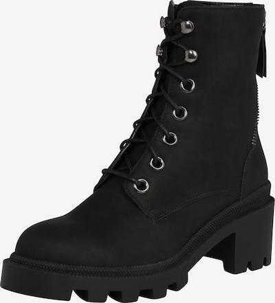 Suvarstomieji kulkšnis dengiantys batai 'Helin' iš ABOUT YOU , spalva - juoda, Prekių apžvalga
