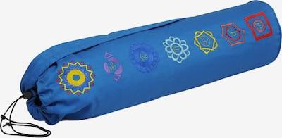 Yogishop Sporttasche in blau / gelb / rot, Produktansicht