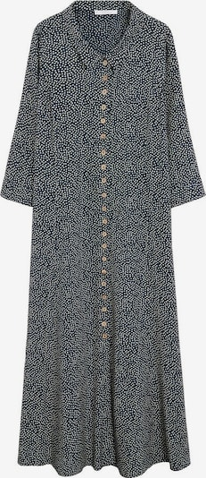 VIOLETA by Mango Robe-chemise 'Wilson' en bleu marine / blanc, Vue avec produit