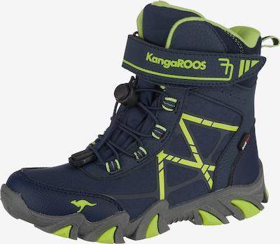 KangaROOS Winterstiefel 'K-Tian' in navy / apfel, Produktansicht