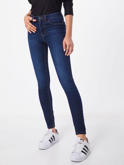 JACQUELINE de YONG Jeggings 'Nikki' in de kleur Blauw denim, Modelweergave