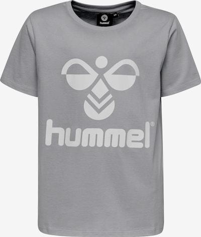 Hummel T-Shirt 'Tres' in grau / weiß, Produktansicht