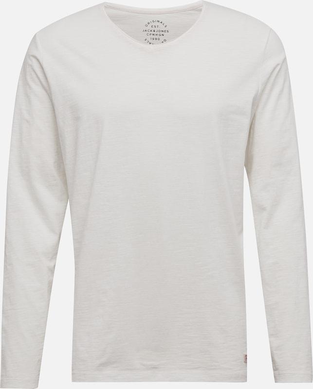 T 'jorbirch Tee En Jackamp; Blanc Jones shirt Ls V neck' sQrtdhCx