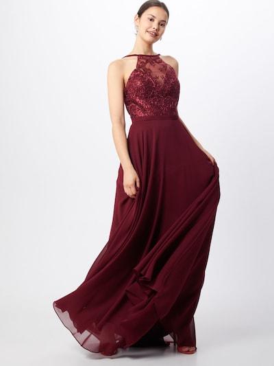 LUXUAR Kleid in bordeaux, Modelansicht