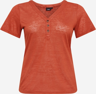Tricou 'Mamy' Zizzi pe maro ruginiu, Vizualizare produs