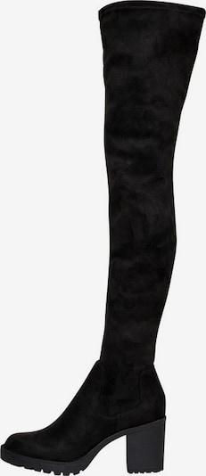 Cizme ONLY pe negru, Vizualizare produs