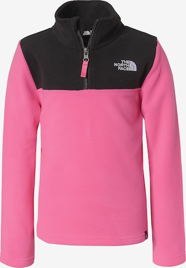THE NORTH FACE Fleecepullover 'Glacier' in pink / schwarz, Produktansicht