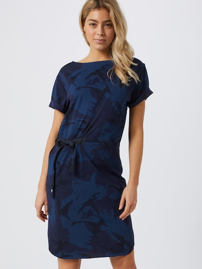 G-Star RAW Kleid 'Disem' in blau, Modelansicht