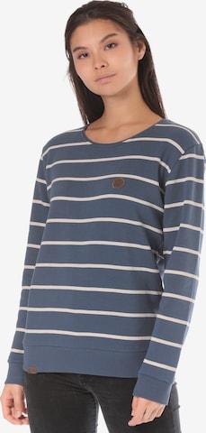 Lakeville Mountain Sweatshirt 'Cuanda Striped' in Blue