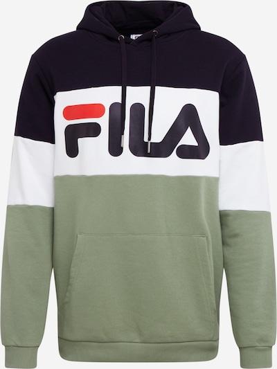 FILA Sweatshirt in marine / oliv / weiß, Produktansicht