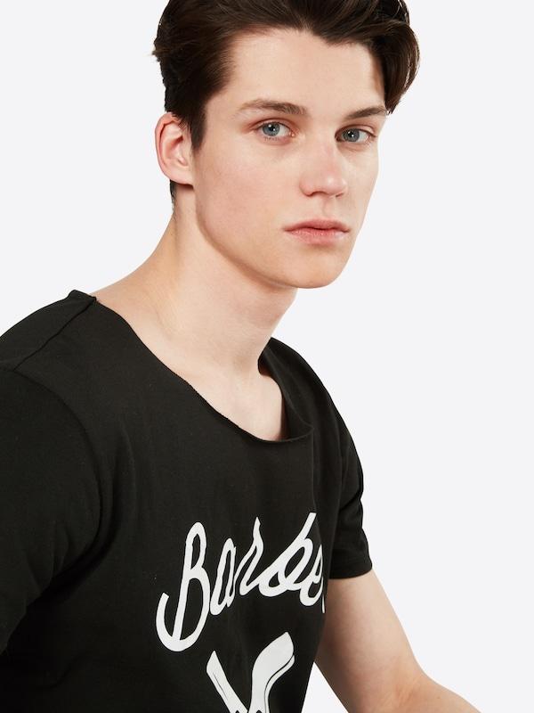 Distortedpeople T-shirt Bb Blades Cutted Neck