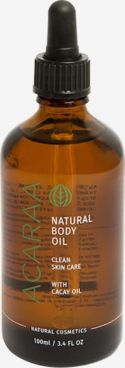 ACARAA Naturkosmetik Körperöl Natural Body Oil 100ml in braun, Produktansicht