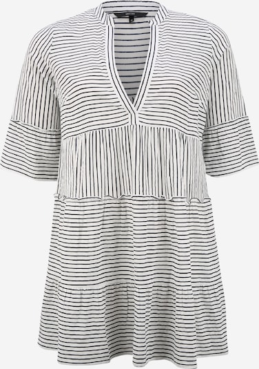 Vero Moda Curve Robe 'VMHELI' en bleu nuit / blanc, Vue avec produit