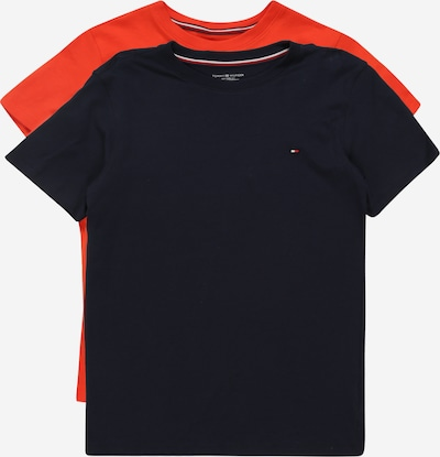 Tommy Hilfiger Underwear T-Shirts '2P CN TEE SS' in navy / rot, Produktansicht