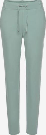Pantaloni BENCH pe verde mentă / alb murdar, Vizualizare produs