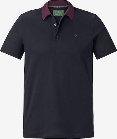 Charles Colby Poloshirt 'Earl Giles' in navy / beere, Produktansicht