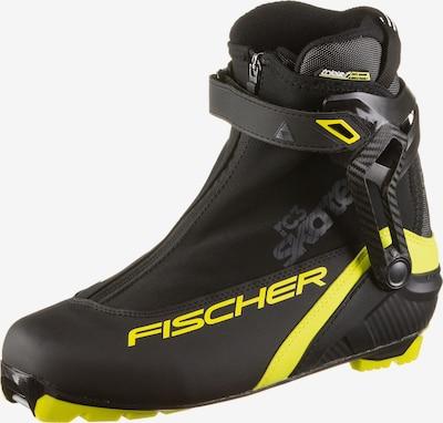 FISCHER Langlaufschuhe 'RC3  Skate' in gelb / schwarz, Produktansicht