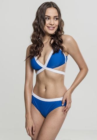 Urban Classics Bikini in Blau