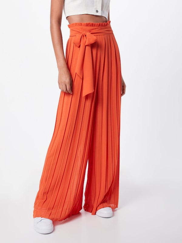 TFNC Hosen 'LUANA PANTS' in orange: Frontalansicht