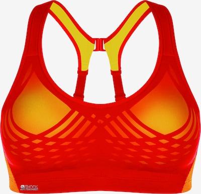 SHOCK ABSORBER Sport bh 'FLY Sport' in de kleur Geel / Grenadine, Productweergave