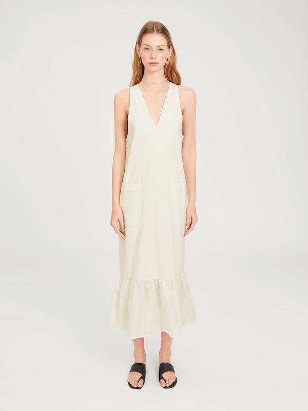 Robe Blanc D'été En Cassé Edited 'devin' OPkuTwXZi