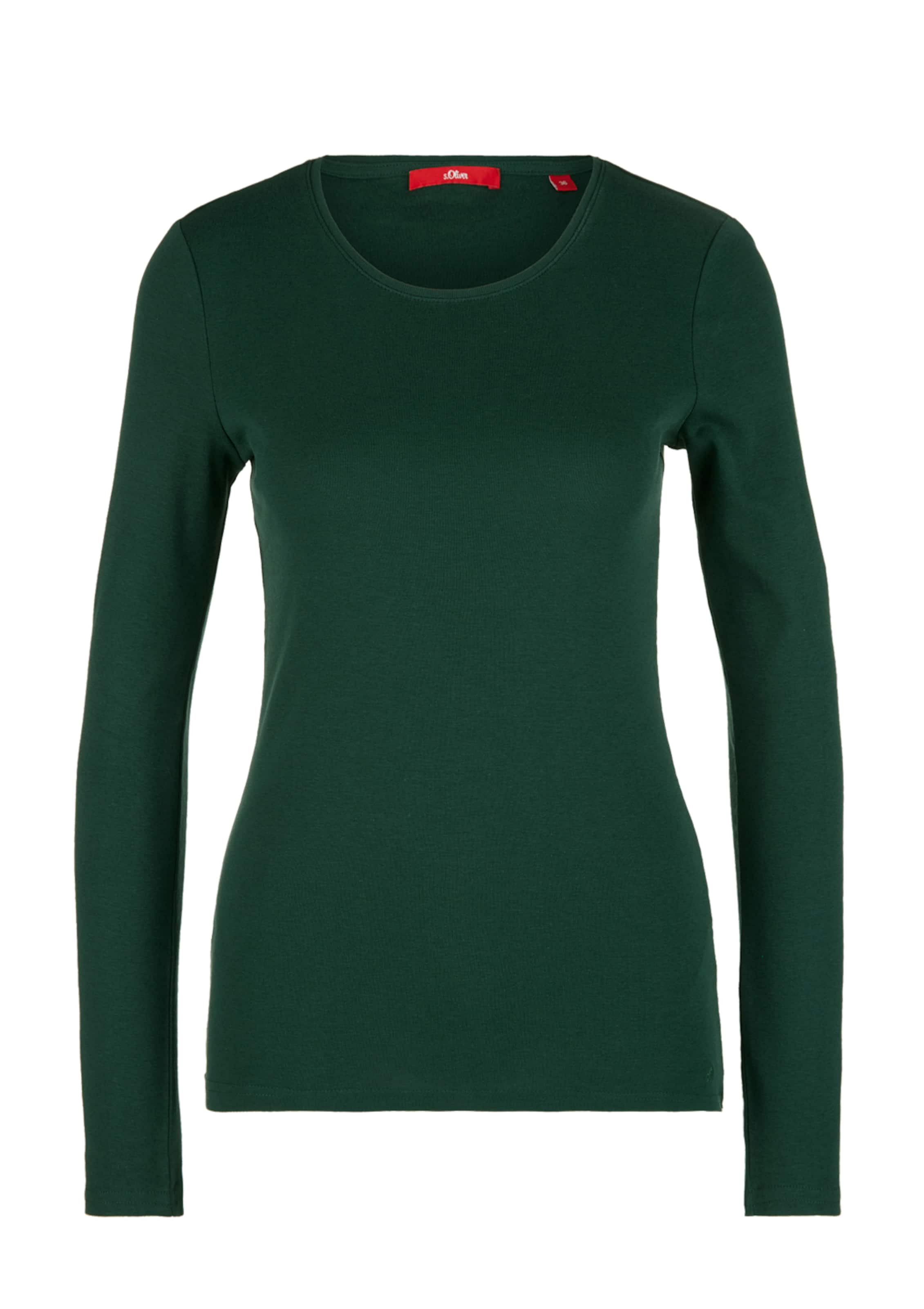 S Red oliver Shirt In Dunkelgrün Label 8wNvmn0