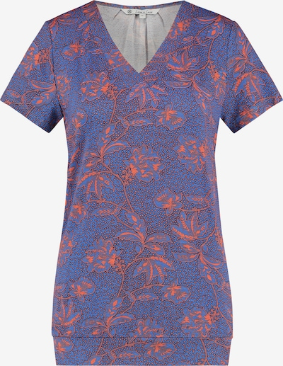 Loom&Lace T-shirt in flieder / mischfarben / orange, Produktansicht