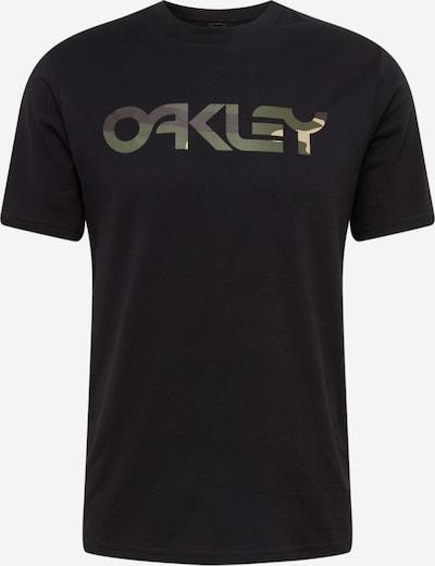 OAKLEY Functioneel shirt 'Mark II' in de kleur Olijfgroen / Zwart, Productweergave