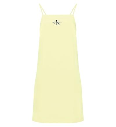 Calvin Klein Jeans Dress in hellgelb, Produktansicht