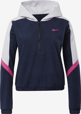 Reebok Sport Athletic Sweater 'MYT Quarter' in Blue