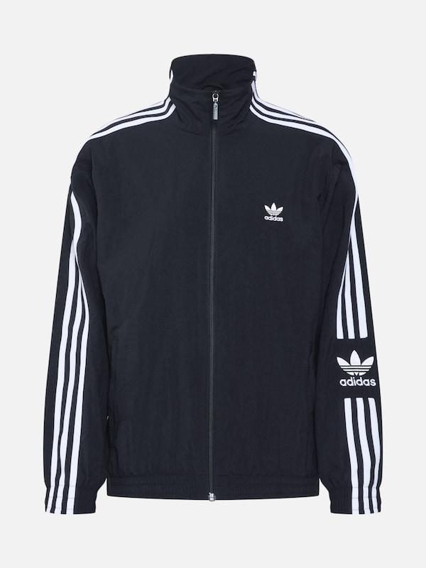 Adidas Originals Tt' 'lock Up Weiß Jacke In Schwarz mNnO80vw