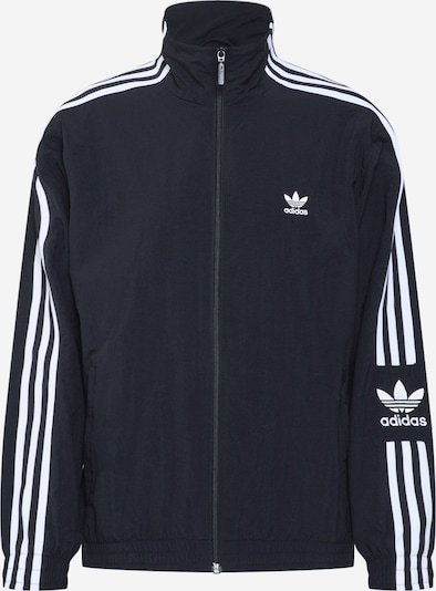ADIDAS ORIGINALS Jacke 'Lock up it' in schwarz / weiß, Produktansicht