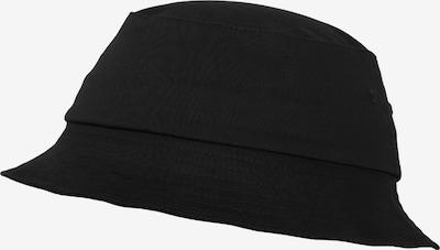 Flexfit Hut in schwarz, Produktansicht