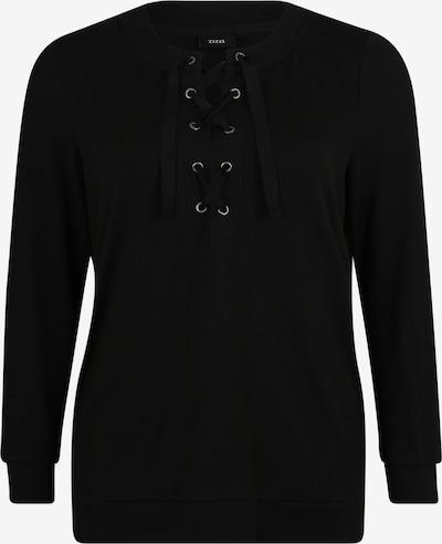Zizzi Sweatshirt 'XLUCCA' in schwarz, Produktansicht
