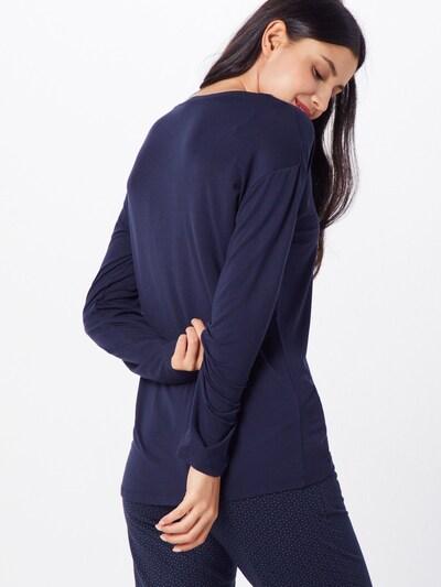 SCHIESSER Chemise de nuit en bleu nuit: Vue de dos