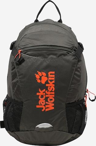 JACK WOLFSKIN Sports Backpack 'VELOCITY' in Grey
