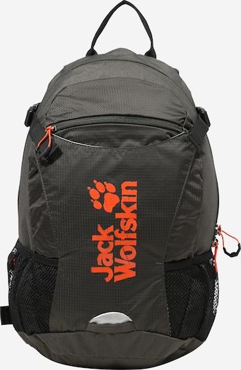 Sportinė kuprinė 'VELOCITY 12' iš JACK WOLFSKIN , spalva - tamsiai pilka / neoninė oranžinė, Prekių apžvalga